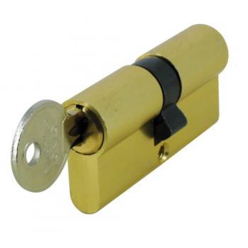 Cylindre double provisoire de chantier s'entrouvrant - Profil européen en aluminium S1-01