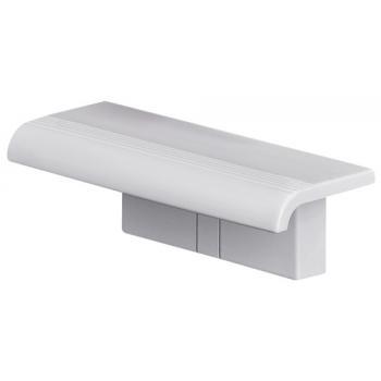Tablette de douche blanche Arsis à fixer