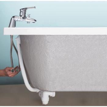 Colonnette Luxe avec flexible 15x21 50 cm