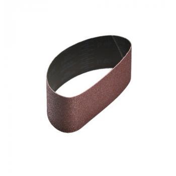 Abrasifs en bandes courtes 100 x 610 mm toile rigide corindon 2921 Siawood