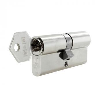Cylindre double à profil européen avec panneton inox haute résistance Oxyloc