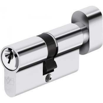 Cylindres doubles à bouton passe général en laiton nickelé, variés pour organigramme Sentinelle