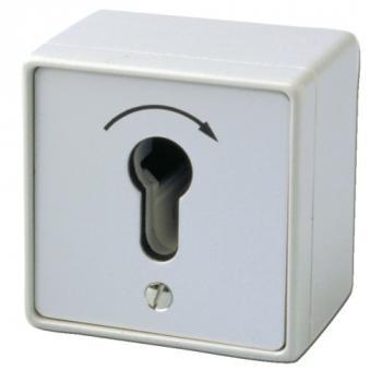Contacteur à clé en applique pour ventouses électromagnétiques