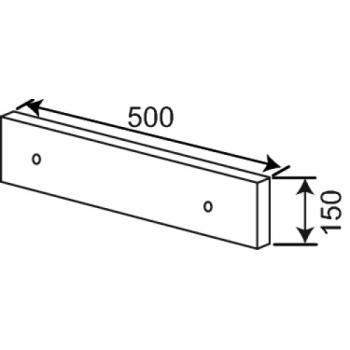 Potelet - Support pour double tiroir