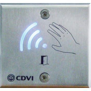 Bouton de déverrouillage à détection infrarouge VHESS