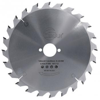 Coffret 3 lames scies circulaires Ø 160 mm