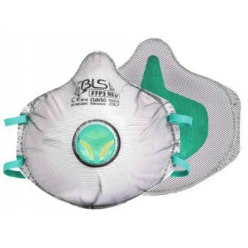 Demi-masque 31C charbon actif FFP3 D réutilisable série 0
