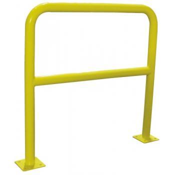 Barrières de sécurité acier diamètre 40 mm à platine
