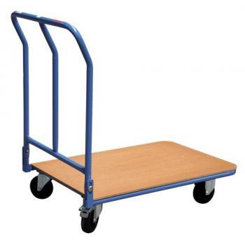 Chariot à dossier rabattable 250 kg