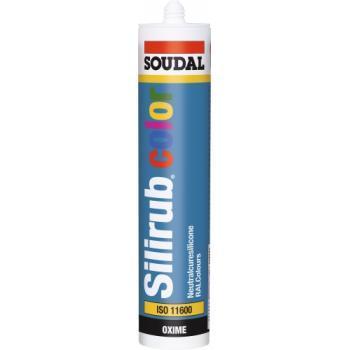 Mastics menuiserie silicone neutre Silirub Color cartouche de 310 ml