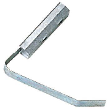 Contre-plaques à ressort pour paumelles menuiserie aluminium universelles 2 lames