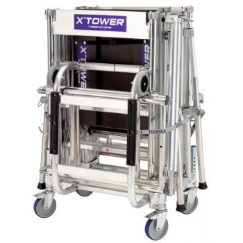 Échafaudages roulants télescopiques aluminium X'Tower