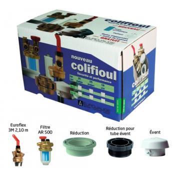 Colifioul CP avec filtre F/F pour cuve plastique