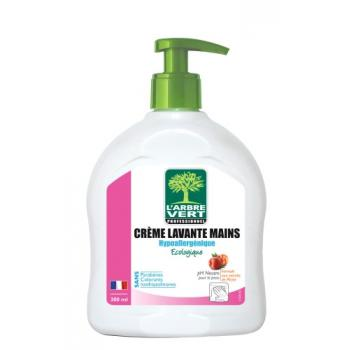 Crème lavante mains hypoallergénique