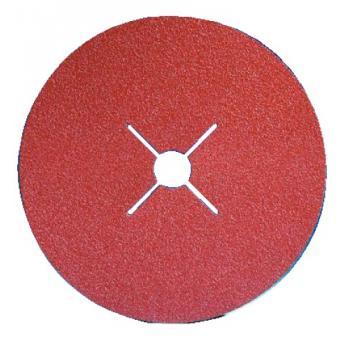 Abrasifs en disques fibre céramique alésage 22 mm XF 760
