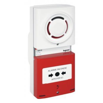 Tableau d'alarme incendie de type 4 à pile