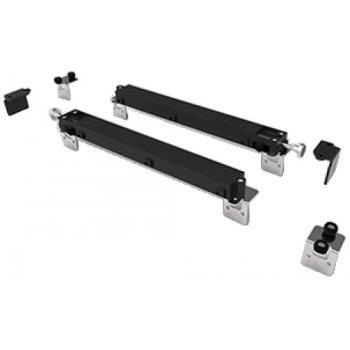 Ferrures P100 pour portes de meubles - Kit amortisseur