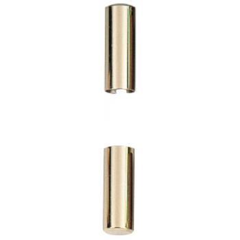 Demi cache-fiches en aluminium GC 838 pour fiches Exacta 495 menuiserie bois