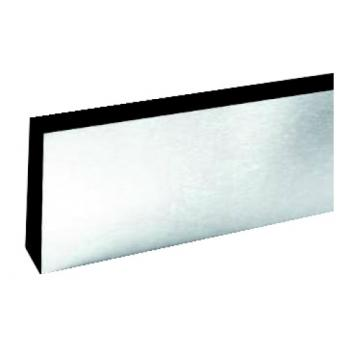 Plinthes de protection de porte inox poli F17