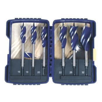 Mèches à bois Blue Groove 6X coffret de 6