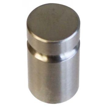 Bouton cylindre strié