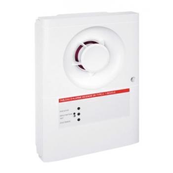 Tableau d'alarme incendie alimentation secteur - Type 4