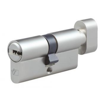 Cylindres doubles à bouton variés laiton nickelé Chausey II