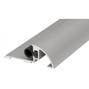 Seuil de porte aluminium à la suisse longueur 1000 mm avec joint d'étanchéité Staten