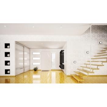 Ferrures Palma pour portes de meubles - kit 2 vantaux