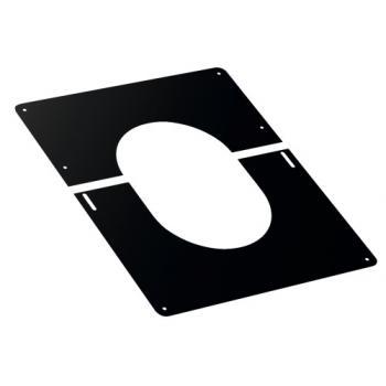 Plaque de finition noire Duoten pour plafond