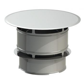 Chapeau anti-vent Duoten Inox + bride de sécurité