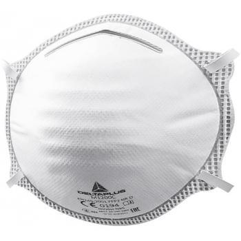 Demi-masque à poussière jetable M1200 C - FFP2 D