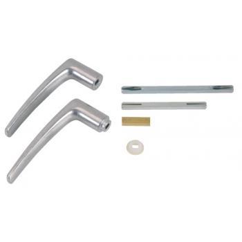 Béquilles doubles 1 entrée aluminium multipose