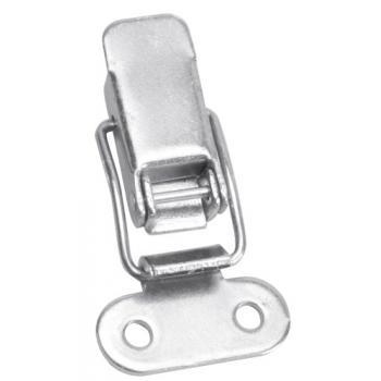 Fermetures à leviers et crochets non réglables acier zingué blanc