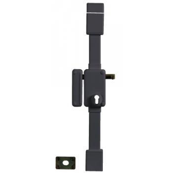 Serrure en applique verticale 3 points à tirage 7 mm - A cylindre européen - BELUGA