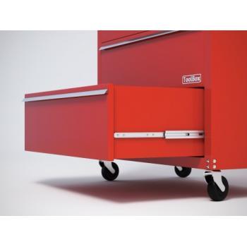 Coulisses à billes - Charge 100 kg - sortie totale - 5321 EC