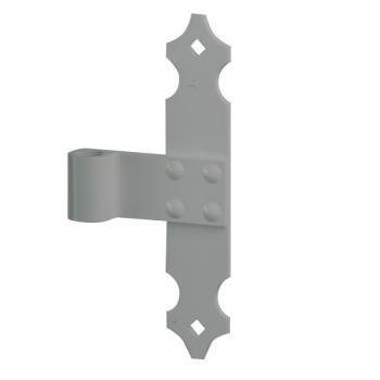 Paumelles milieu pour volets aluminium et PVC