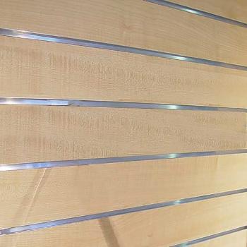 Profil trapèze pour panneaux rainurés