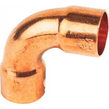 Coude cuivre 90° grand rayon F/F à souder 2ACU