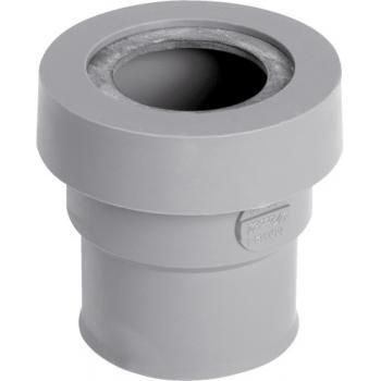 Manchette PVC à joint pour sortie appareil sanitaire