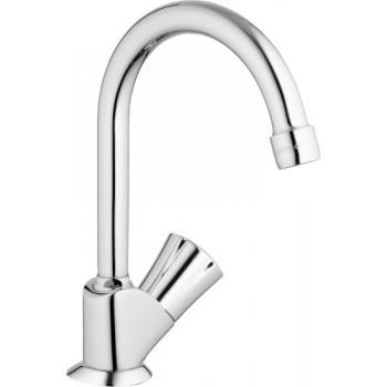 Robinet lavabo lave mains bec haut mobile Costa L
