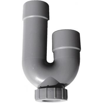Corps de siphon machine à laver ABS Ø 40 avec bouchon à joint