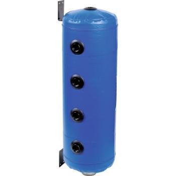 Bouteille de mélange bleue pour chauffage et climatisation