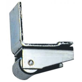 Arrêts avec roulette d'appui pour portail coulissant