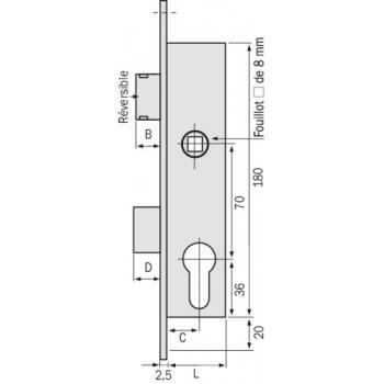 T Shape Big Wheel Hanger Rail Porte Coulissante 153cm//5ft Noir Convient /à 1 Porte Large de 77 cm CCJH Kit Rail Coulissant Armoire Placard