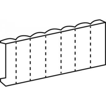 Obturateur pour tableau modulaire