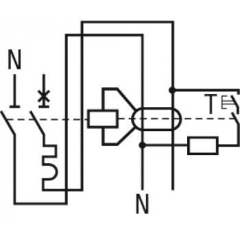 Disjoncteur différentiel Prodis Vigi DT40 unipolaire + neutre