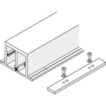 Profil de renforcement avec plaque de raccordement pour rail de roulement - Folding Concepta 25