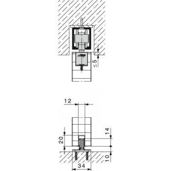 Vantail de 80 kg - Junior 80 B/mod