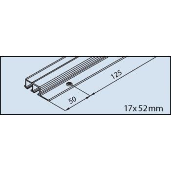 Vantail de 16 kg - Clipo 16 GPK Inslide (IS) - Rail de coulissage double